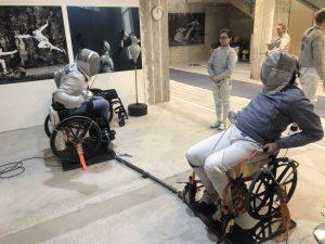 Rollstuhlfechten Jürgen Zielinski-Lick